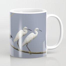 Egrets and Crows, Cochin, India Coffee Mug