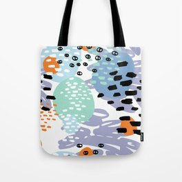 Abstract artistic collage. Tote Bag