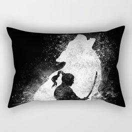 The Lone Samurai Rectangular Pillow