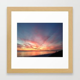 End of the Day Framed Art Print
