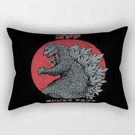 Gojira Kaiju Alpha Rectangular Pillow