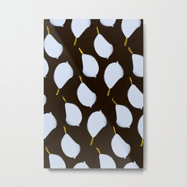 white lemons Metal Print