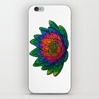 lotus flower iPhone & iPod Skins featuring Lotus  by Luna Portnoi