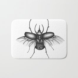 Beetle Wings Bath Mat