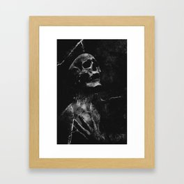 To the right way Framed Art Print