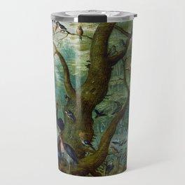 """Jan van Kessel de Oude """"Concert van Vogels"""" Travel Mug"""
