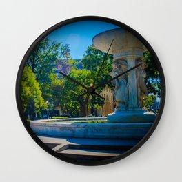 Fountain, Dupont Circle Wall Clock