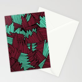 Happy Abstract Nr:02 Stationery Cards