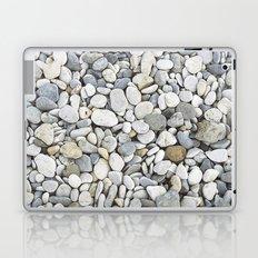 Grey pebbles Laptop & iPad Skin