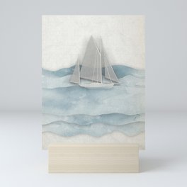 Floating Ship Mini Art Print