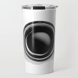 Cup of Coffee (Black and White) Travel Mug
