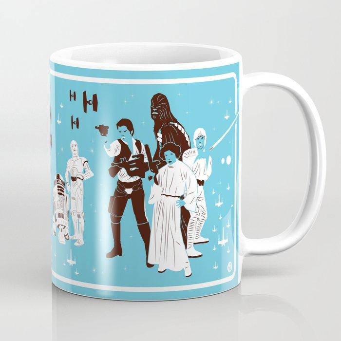 IV (Blue) Coffee Mug