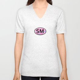 Santa Monica - California Unisex V-Neck