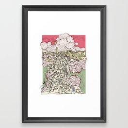 Deconstruction3 Framed Art Print