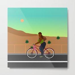 Bikes, Buses, Subways Metal Print