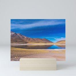 Laguna Miscanti, San Pedro de Atacama Desert, Chile Mini Art Print