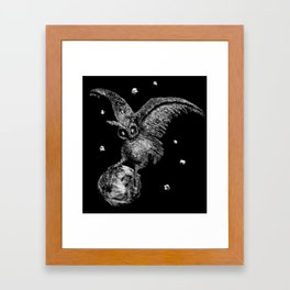 Moon Stealer Framed Art Print