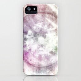 Pastel Chaos iPhone Case