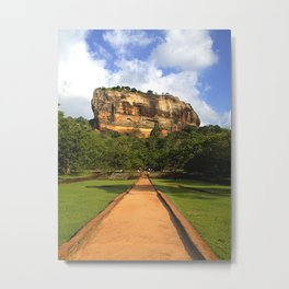 therock Metal Print