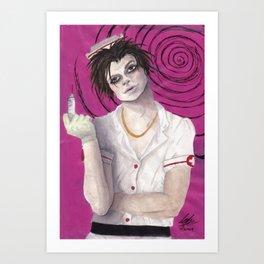 Psychotic Fetish Art Print
