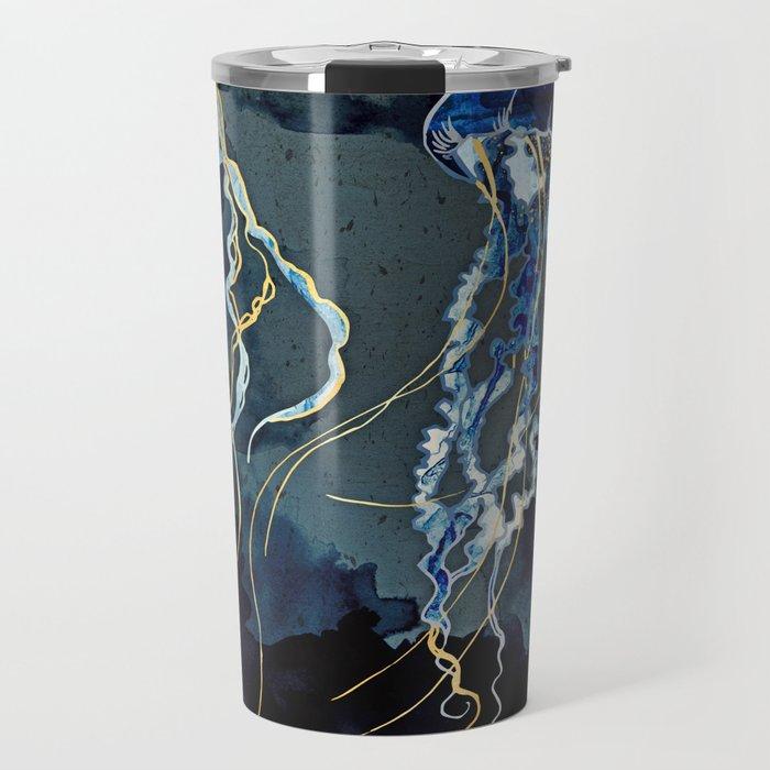 Metallic Ocean III Travel Mug
