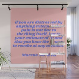 revoke at any moment - aurelius quote Wall Mural