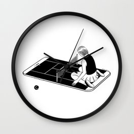 Love is a losing game Wall Clock