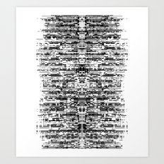 (this)Integrate Art Print