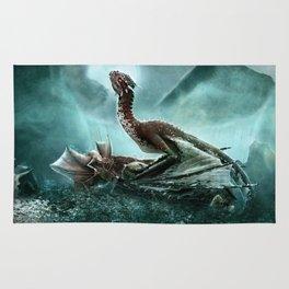 Into the dragon's lair Rug