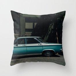 San Francisco Ride II Throw Pillow