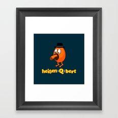 HeisenQbert Framed Art Print
