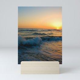 Ocean Sunset 4 Mini Art Print