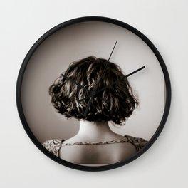 look away. Wall Clock