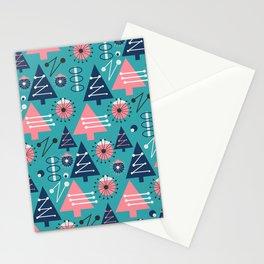 Mid-century modern Christmas Stationery Cards