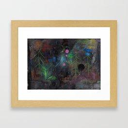 Midnight  Garden cycle23 2 Framed Art Print