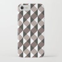gray pattern iPhone & iPod Cases featuring Pattern Gray by Sonia Marazia