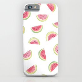 Watermelon slices iPhone Case