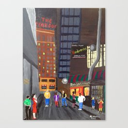 Rendezvous Alley, Memphis Canvas Print