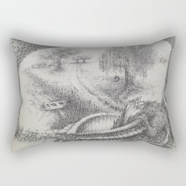 Feeding Time Rectangular Pillow