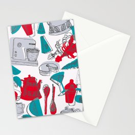 Vintage 1950's Kitchenalia Stationery Cards