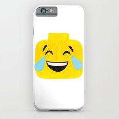 Tears of Joy - Emoji Minifigure Painting iPhone 6s Slim Case
