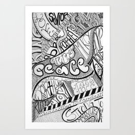 Attributes of God Art Print
