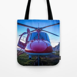 Air Rescue Tote Bag