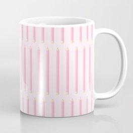 PENCILS ((pink)) Coffee Mug