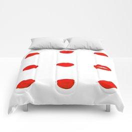 Red Lips Comforters