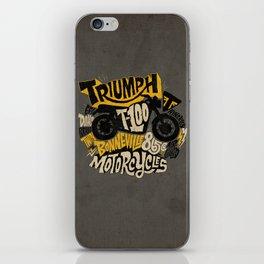 Triumph iPhone Skin