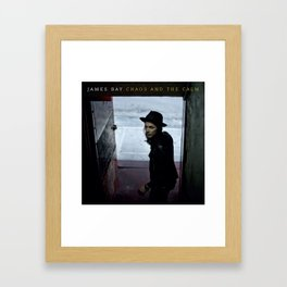james bay chaos and the calm tour 2019 2020 nyedit Framed Art Print