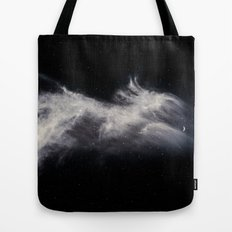Moon and Clouds Tote Bag