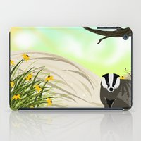 badger iPad Cases featuring Badger by TailorMade:ART