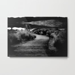 WALK IT Metal Print